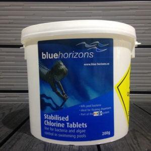 Chlorine Tablets Blue Horizons