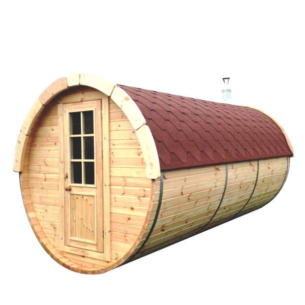 Barrel Sauna 4.0