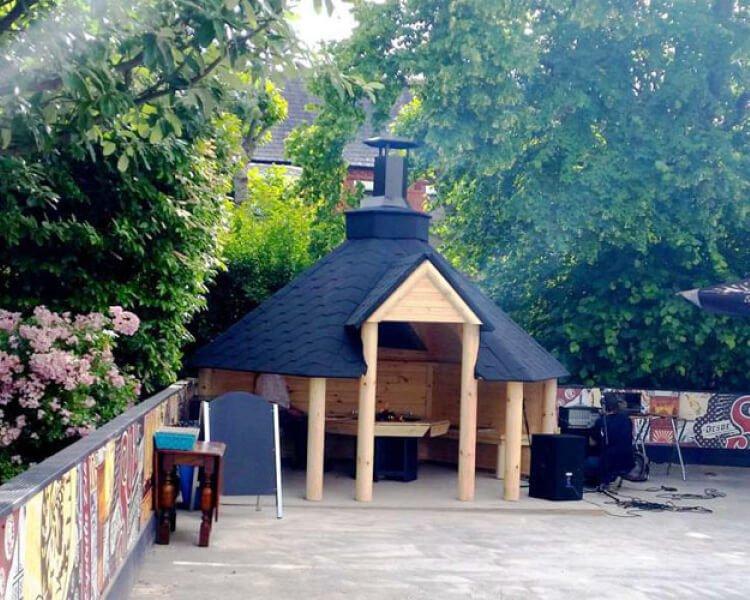 Open Style 9.2 sq.m. BBQ Hut